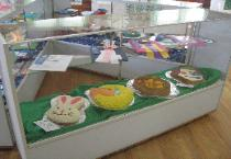 4-H Cake Decorating Entries at the Fair